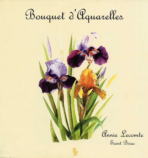 Bouquet d'aquerelles. Editions Yellow Concept Bretagne